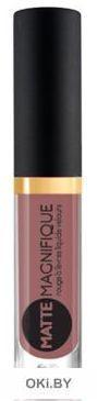 Матовая жидкая помада для губ Matte Magnifique тон 219/3мл (розово-бежевый теплый)