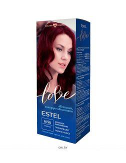Махагон тон 6/56 - стойкая крем-краска для волос ESTEL LOVE