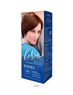Коньяк тон 6/43 - стойкая крем-краска для волос ESTEL LOVE