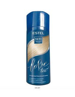 Карамельный блондин тон 10/31 - оттеночный бальзам для волос ESTEL LOVE TON