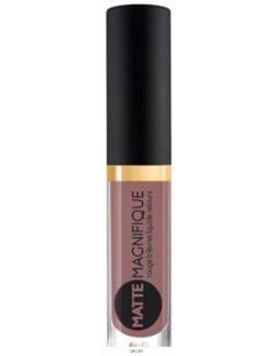 Матовая жидкая помада для губ Matte Magnifique тон 218/3мл (пыльно-розовый теплый)