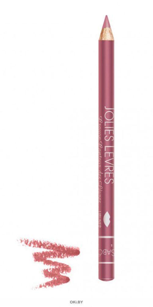 Карандаш для губ «Jolies Levres» тон 202, 1,4 г (темно-розовый холодный)
