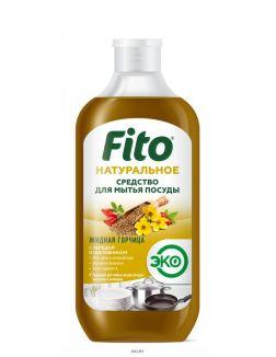 Жидкая горчица - натуральное средство для мытья посуды (серии Народные рецепты) 490 мл