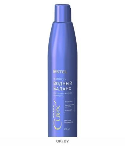Шампунь «Водный баланс» для всех типов волос, 300 мл (Estel CUREX BALANCE)
