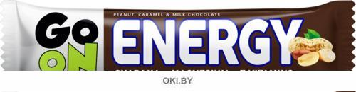 Батончик Go On Energy с арахисом и карамелью в молочном шоколаде с арахисом и карамелью в молочном шоколаде 50 г (Sante)