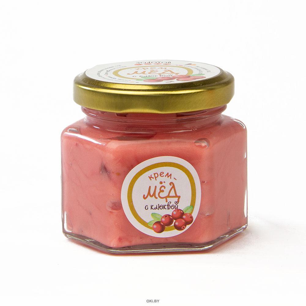 Крем-мёд с Клюквой 150 г