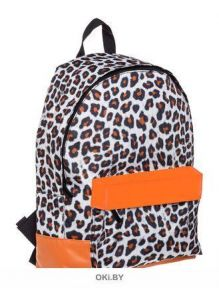 Leopard style - рюкзак Hatber BASIC 30Х41Х13 см полиэстер, 1 отделение 1 карман