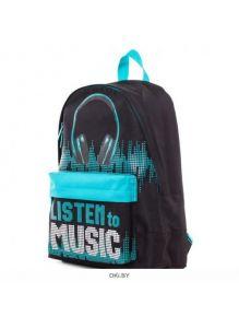 Listen to music - рюкзак Hatber BASIC 30Х41Х13 см полиэстер 1 отделение 1 карман