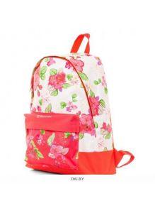 Нежные цветы - рюкзак 30Х41Х13 см полиэстер 1 отделение 1 карман (Hatber BASIC)