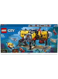 Океан: исследовательская база (Лего / Lego city)