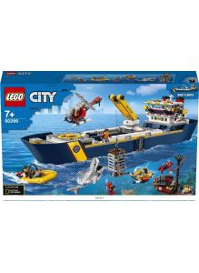 Океан: исследовательское судно (Лего / Lego city)