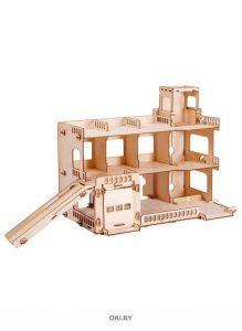 Парковка СитиПарк - деревянный конструктор (polly, ТР-20)