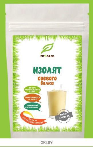 Изолят соевого белка «FITFORCE»  дой-пак 300 гр