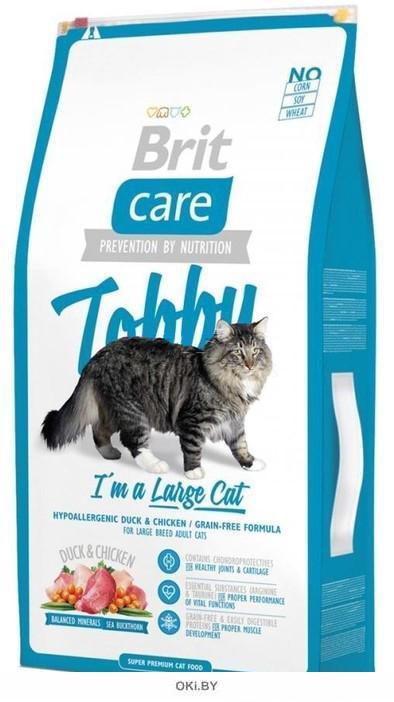 Сухой корм для кошек крупных пород 7 кг Care Tobby Cat (512980)