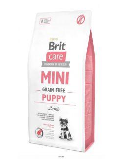 Корм сухой для щенков мини-пород, ягненок, беззерновой 7 кг Care MINI GF Puppy Lamb (520152)