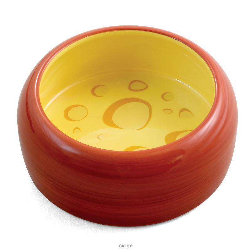 Миска керамическая для мелких животных «Сыр» 0,25 л