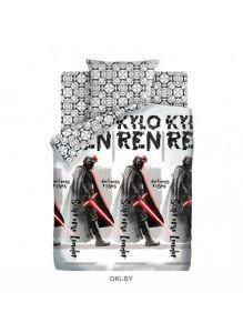 Детское постельное белье «Star Wars Neon. Верховный лидер» 1,5 сп. 50х70 поплин 16249-1/16248-1