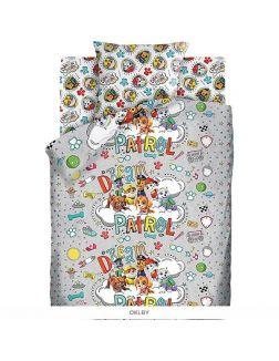 Детское постельное белье полутороспальное «Щенячий патруль. Патруль мечты» (70х70) хлопок (16013-1 / 16014-1)