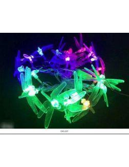 Гирлянда CL-02 (светодиод разноцветный ) 25 л, 5 м