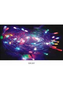 Гирлянда BH6009 c контр. (светодиод разноцветный ) 100 л, 6 м