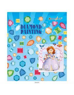 Принцесса - алмазная мозаика 25х30 см Darvish