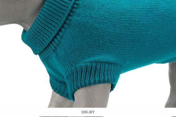 Пуловер для собак «Kenton» S 36 см, бирюзовый TRIXIE