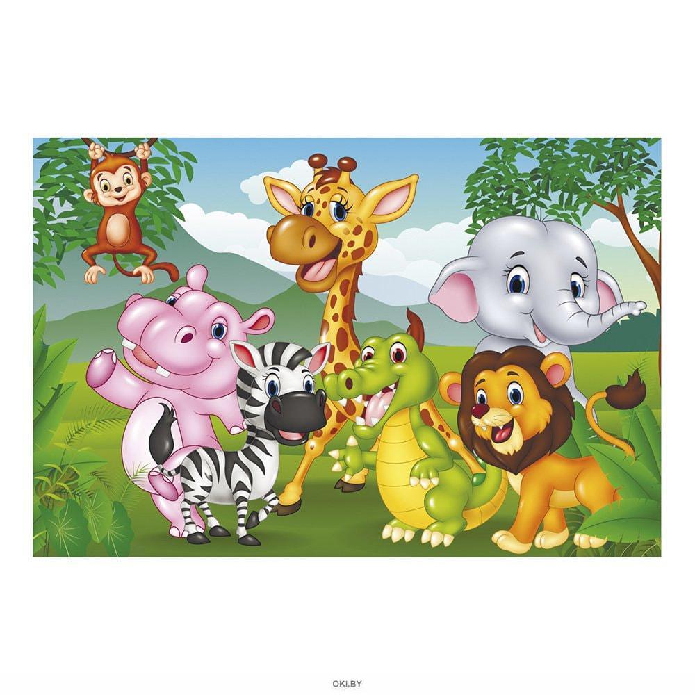 Пазл «Зоопарк» 60 элементов