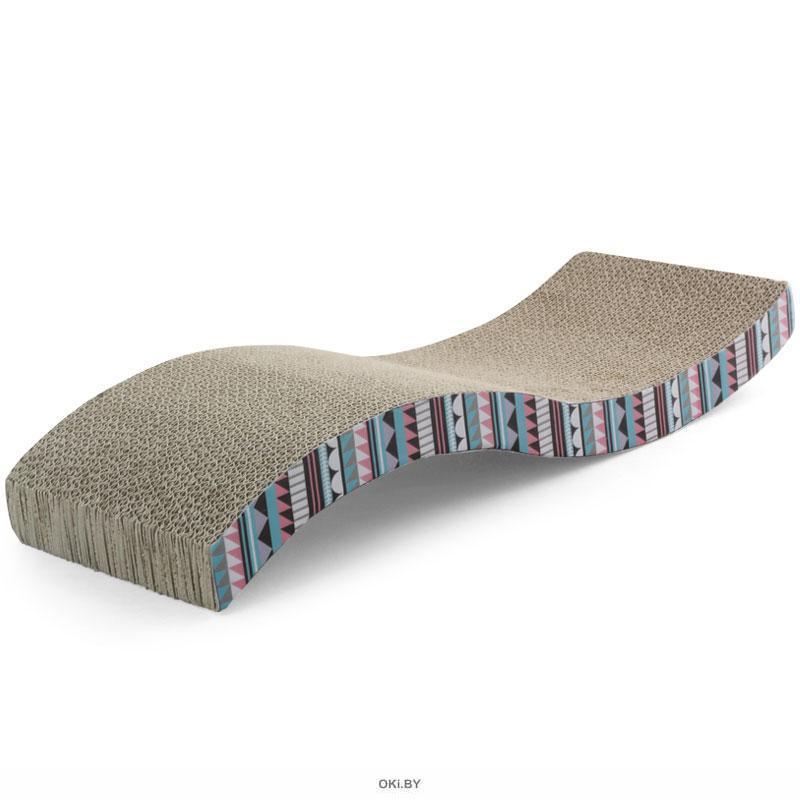 Когтеточка-лежанка из гофрокартона «Волна», 530х205х85 мм