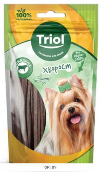 Хворост из говядины для мини-собак, 50 г