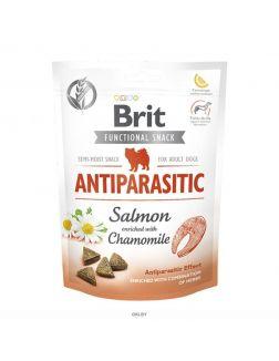 Brit Care Dog Functional Snack Antiparasitic с лососем (Борьба с паразитами) 150 g, 111425