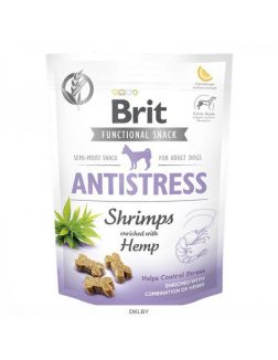 Brit Care Dog Functional Snack Antistress с креветками (Эффект «Антистресс») 150 g, 111422