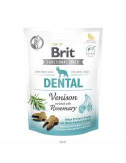 Brit Care Dog Functional Snack Dental с олениной (Здоровье зубов) 150 g, 111418