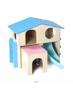 Игровой комплекс для мелких животных LITTLE TOWN «Раздолье»