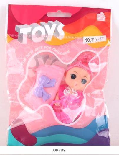Кукла TOYS с аксессуарами во флоупаке 3,5 см (арт. B1188276) (ДЕФЕКТ)
