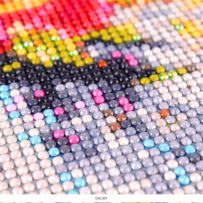 Алмазная мозаика Олень зимой 20х30 см Darvish