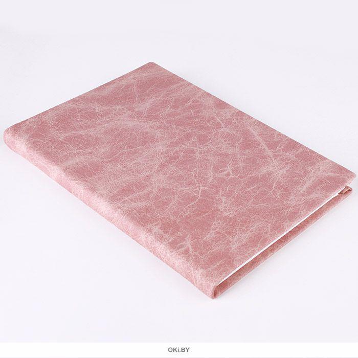Ежедневник недатированный  А5 128 листов фактура камня коричневый