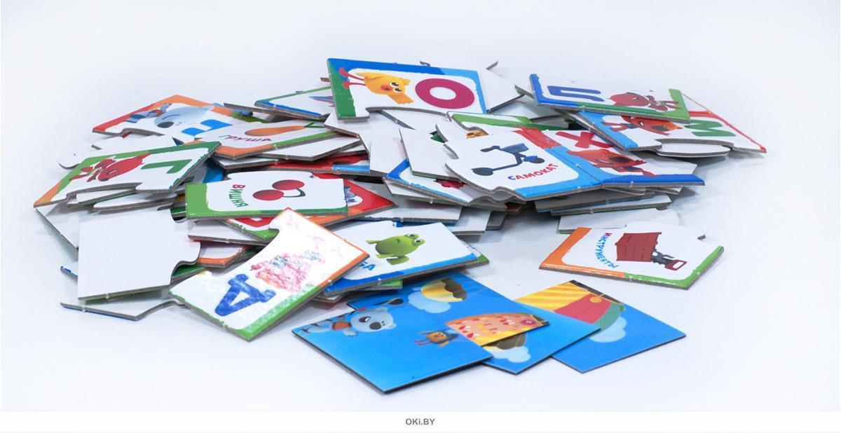 Обучающая игра. Набор карточек «Буквы А-Я + магниты»