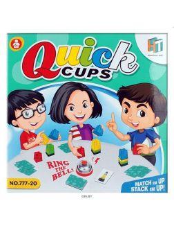 Настольная игра «Quick cups / Быстрые колпачки»