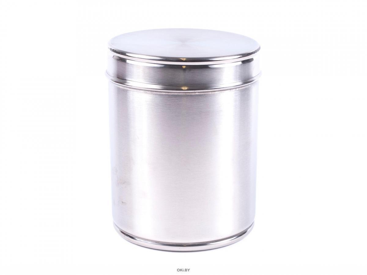 БАНКА ДЛЯ СЫПУЧИХ ПРОДУКТОВ металлическая 1,8 л 13*16,5 см