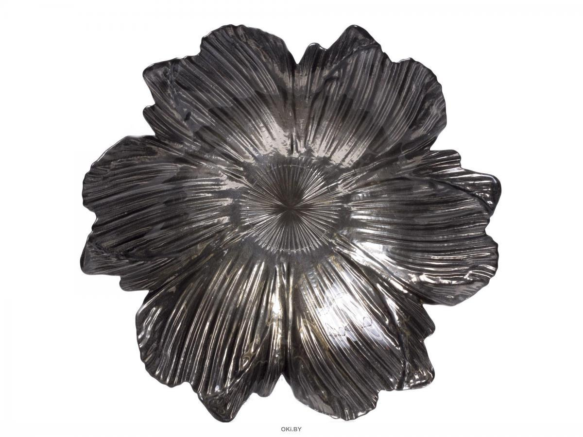 ВАЗА стеклянная декоративня 38х9 см (арт. 62538a, код 187195)