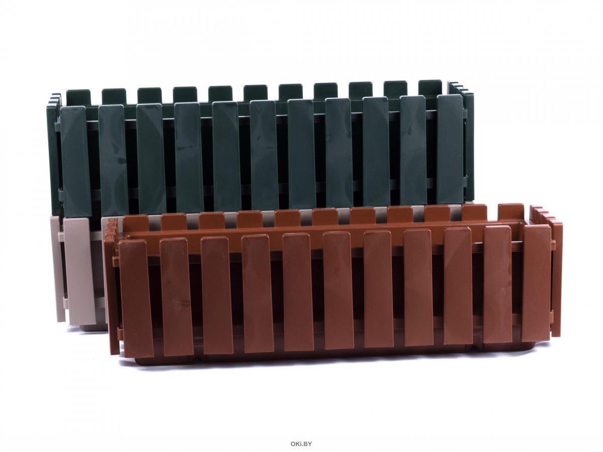 КАШПО пластмассовое подвесное «Akasya Balcony» 59х19,5х17 см (арт. AB60PPM, код 497781)