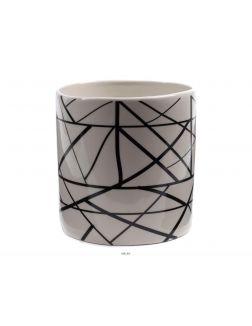 ГОРШОК ДЛЯ ЦВЕТОВ керамический 15х15х16 см (арт. A18996, код 216635)