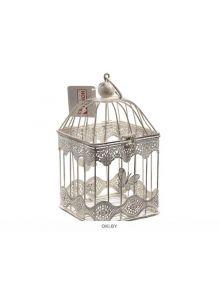 КЛЕТКА металлическая декоративная «Бабочки» 20х11 см (арт. 27532817, код 211197)