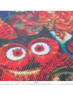 Совы - алмазная мозаика 40х50 см Darvish