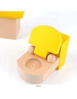 Набор мебели деревянной «Ванная»