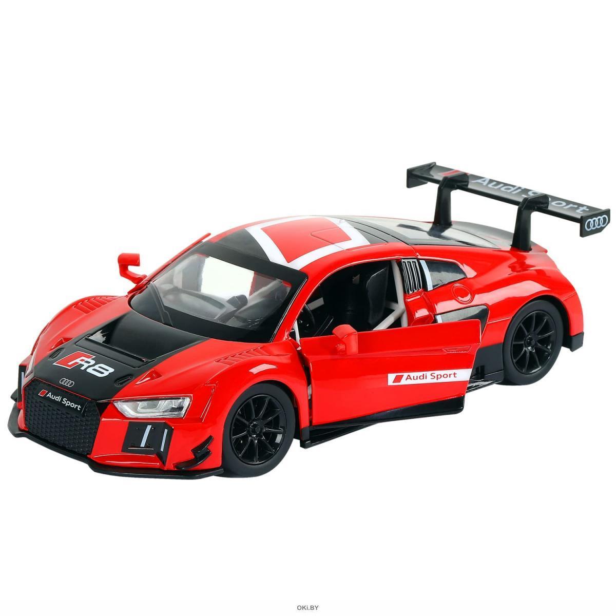 Машинка металлическая 1:24 Audi R8 LMS