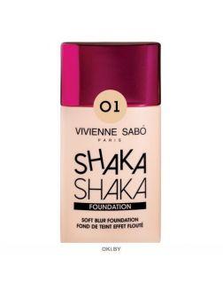 Тональный крем с натуральным блюр эффектом Shaka Shaka тон 01 25 мл (светло-бежевый) Vivienne Sabo
