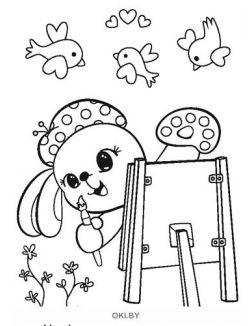 Зайка № 3 (21) Раскраска с заданиями «Играю! Рисую! Фантазирую!»