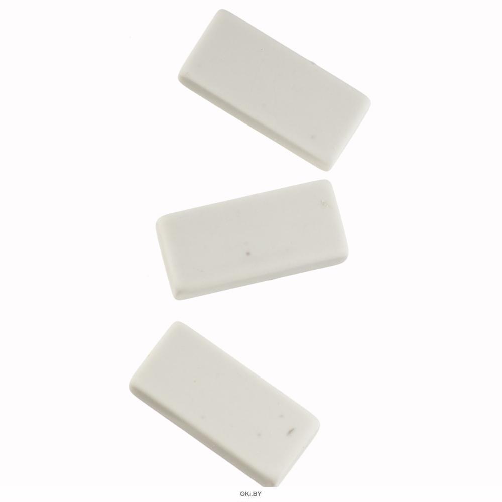 Набор ластиков из синтетического каучука, 3 шт (80374)