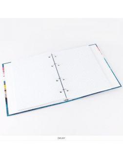 Тетрадь на кольцах 160 листов А5